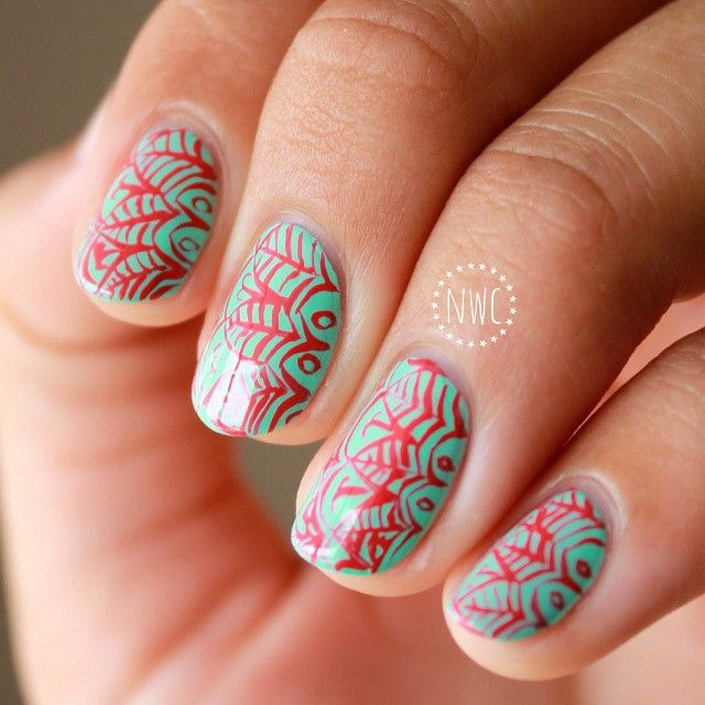 133 Best Images About Spring Nails On Pinterest