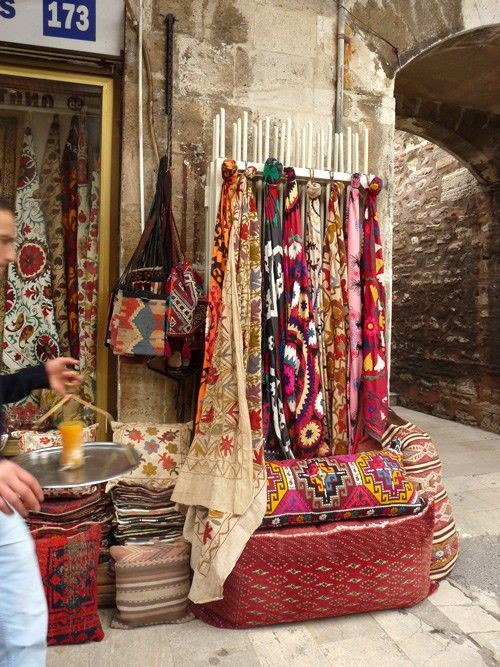 One of my favorite cities to shop and and wander in - The Bazaar's of Istanbul, Turkey