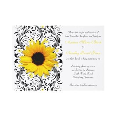 sunflower wedding invite: Deep Purple, Add Purple, Beautiful Invitations, Tarng, Chocolates Brown, Tammy, Sunflowers Invitations, Invitations Noel, Green Writing