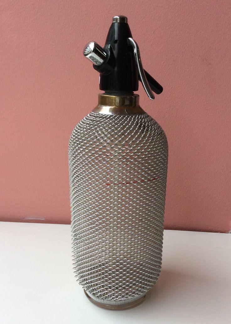 metalliverkkopäällysteinen sifoni . korkeus 35cm . VARATTU