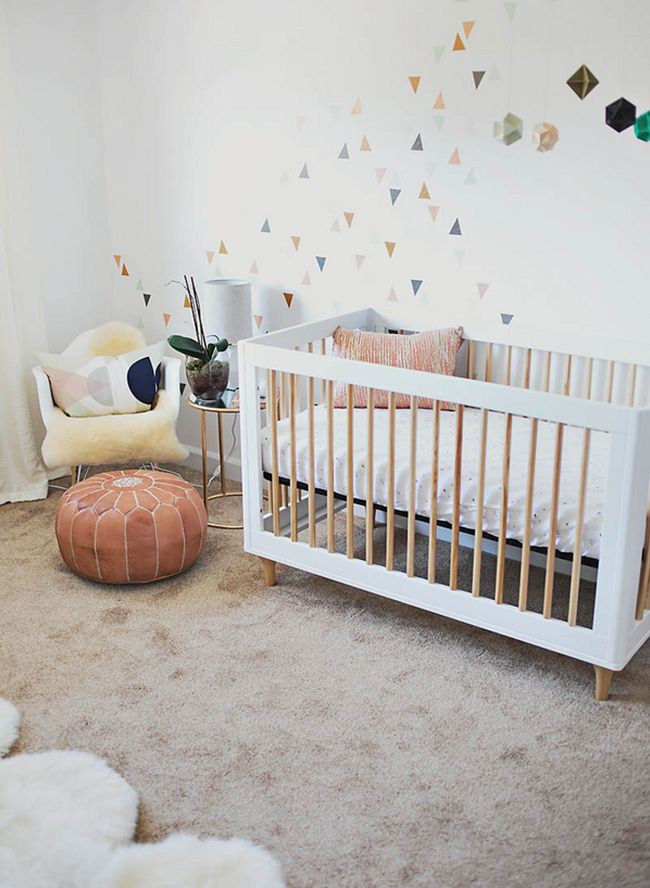 Contemporary Geometric Nursery - Inspired By This