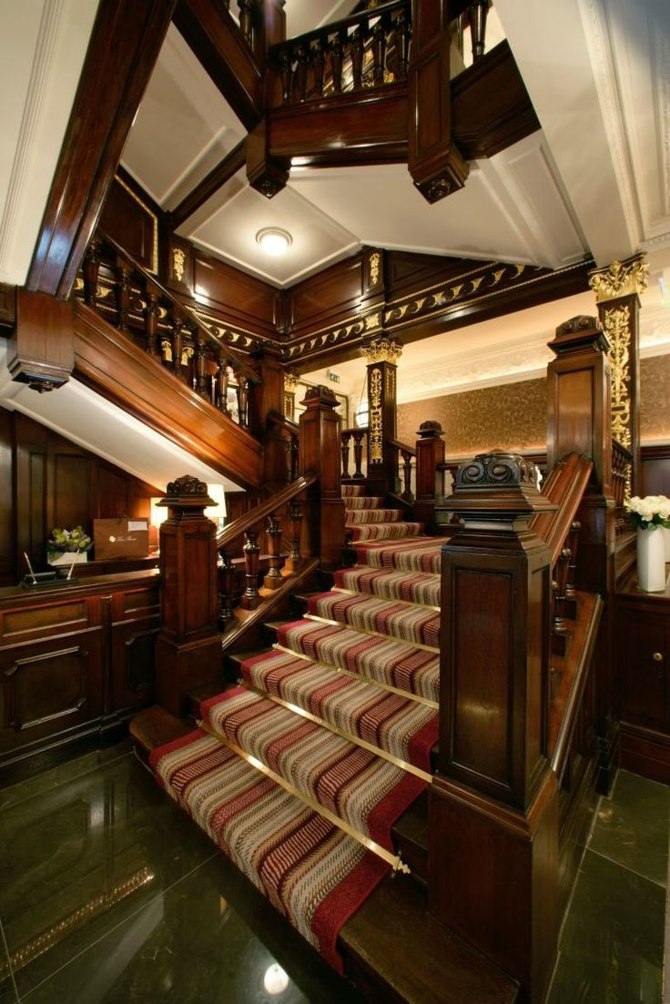 Guy Oliveru0027s Staircase (and Concierge Desk) And The Connaught Hotel,  Mayfair, London
