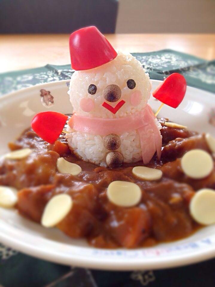 Hiromiromi's dish photo 雪だるま★カレー