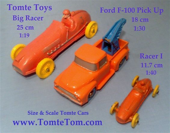 Tomte Great Vinyl Model Cars