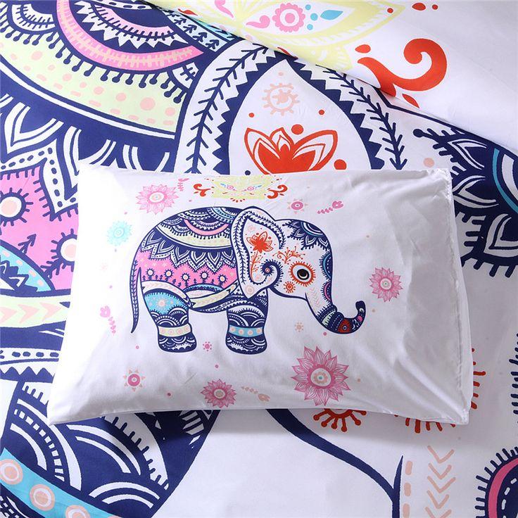 Lovely Rainbow Mandala Elephant Duvet Cover Set mandala sheets, mandala bedspread, boho bedding, bohemian bedding, mandala comforter, hippie bedding, boho comforters, bohemian comforter, mandala bed sheets, boho bedding sets, mandala duvet cover, boho chic bedding, mandala bed set,  boho comforter set, mandala comforter set, bohemian bedding sets, mandala quilt cover, bohemian bedspread, mandala doona cover,  mandala bed cover, mandala quilt cover set, mandala duvet