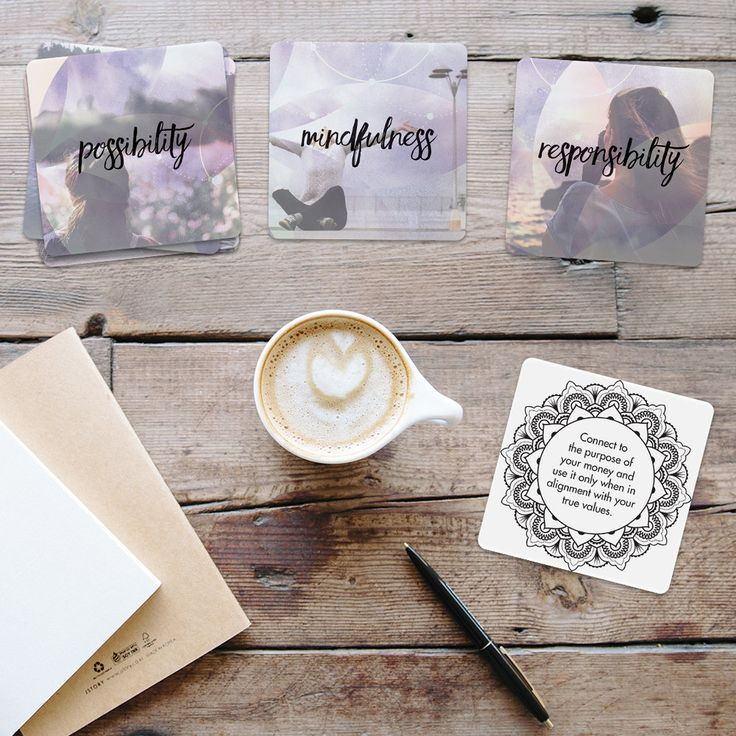 These Abundance Affirmation + Intention Setting Cards will help nourish your sub-conscious and inspire and support you to develop a positive money mindset and empowering money habits.
