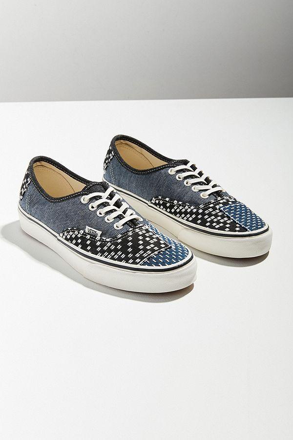Vans Authentic Patchwork Denim Sneaker