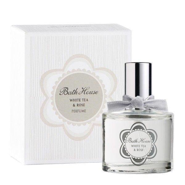 White Tea & Rose Bath House perfume - a fragrance for women