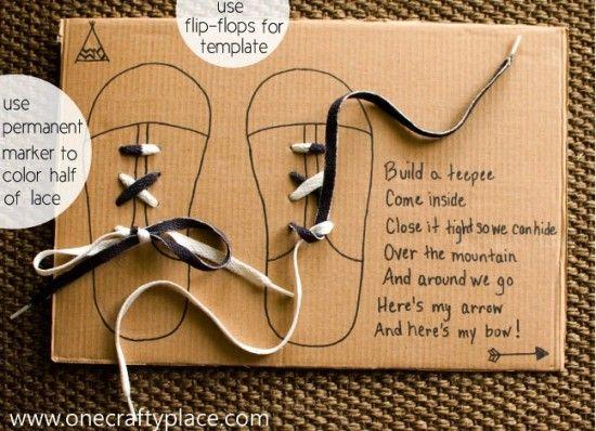 shoelace poem