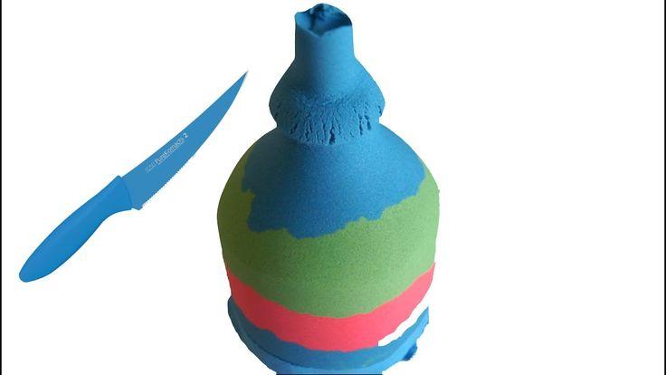 How to Kinetic Sand Big Bottle