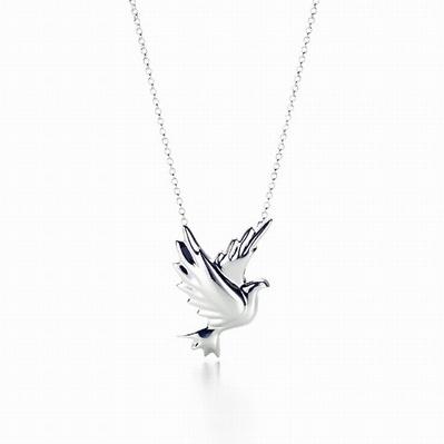 Tiffany Dove Necklace