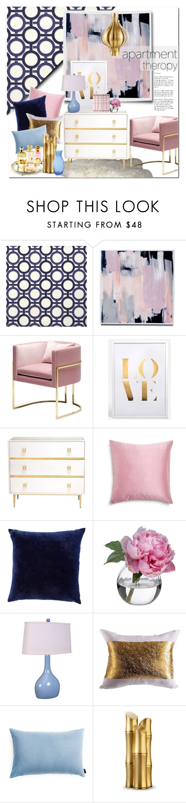 """Top Notch"" by qrystal5to9 ❤ liked on Polyvore featuring interior, interiors, interior design, home, home decor, interior decorating, Graham & Brown, Worlds Away, Diane James and Universal Lighting and Decor"