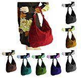 OBC Made in Italy Damen XXL Ledertasche Leder Wildleder Shopper Tasche Schultertasche Umhängetasche Hobo-Bag Beuteltasche: Made in Italy…