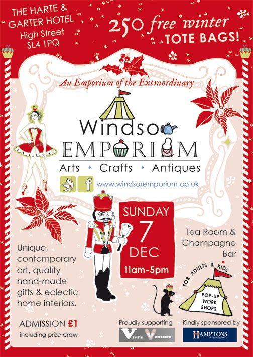 The Windsor Emporium's Extraordinary Christmas event!