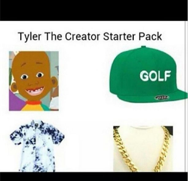 Tyler, The Creator starter pack
