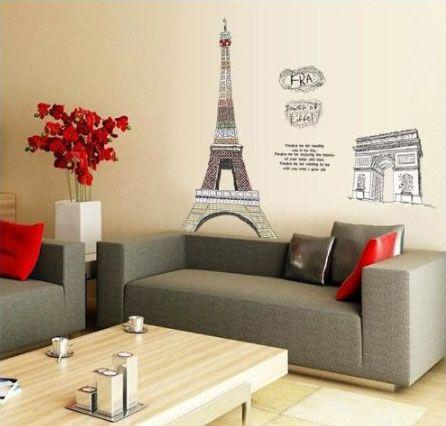 16 best Paris Decor images on Pinterest Paris rooms, Home and - paris themed living room