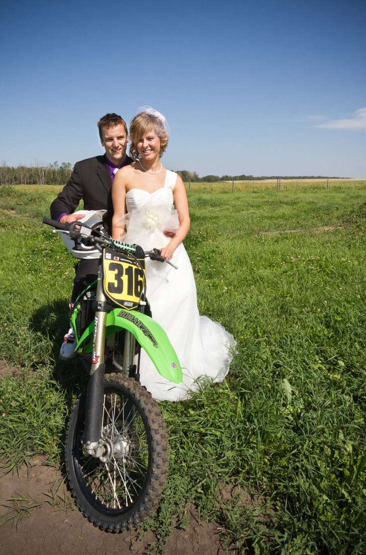 Dirtbike Wedding Photography #camponiphotography