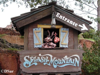 Ride Splash Mountain - I know it's ridiculous, but I haven't ridden this yet.  Maybe soon!