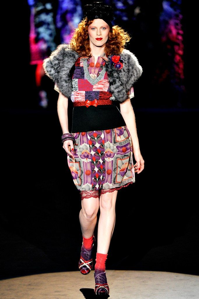 Anna Sui Spring 2012 Ready-to-Wear Fashion Show