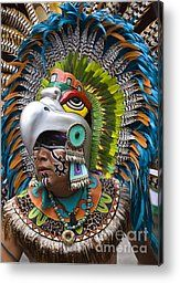 Aztec Eagle Dancer - Mexico Metal Print by Craig Lovell