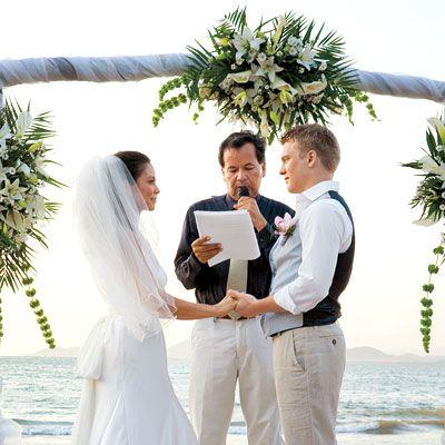 The Love Story - Celebrity Wedding: David Paetkau & Evangeline Duy - InStyle Weddings - 2008