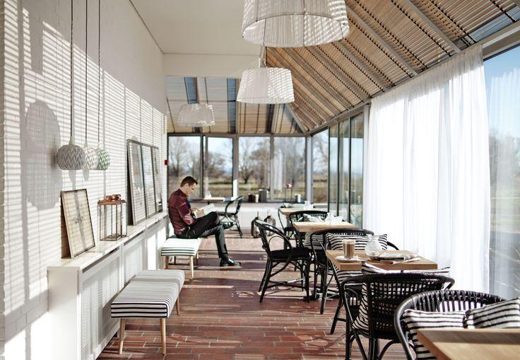 Badehotelstemning  #udsigt #køge #Comwell #comwellkoegestrand #lokaler #restaurant