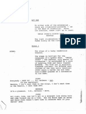 Mamma mia stage script pdf