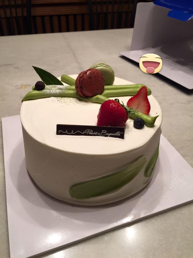 Beautiful cake from Paris Baguette