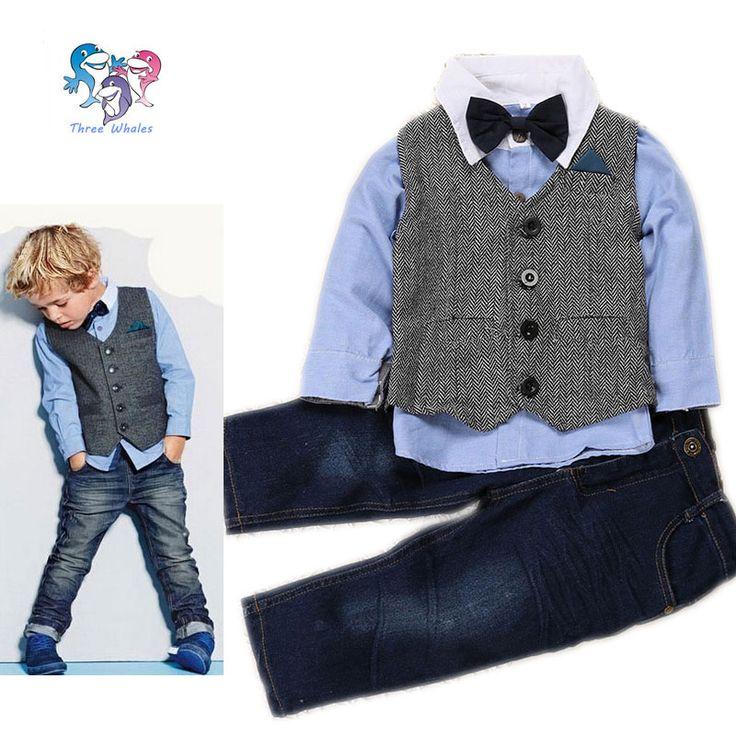 $19.66 (Buy here: https://alitems.com/g/1e8d114494ebda23ff8b16525dc3e8/?i=5&ulp=https%3A%2F%2Fwww.aliexpress.com%2Fitem%2F2016-Kid-Clothes-Hot-Sale-Toddler-Boys-Brand-Clothing-4-Pcs-Formal-Vest-Boys-Wedding-Clothes%2F32596110854.html ) 2016 Kid Clothes Hot Sale Toddler Boys Brand Clothing 4 Pcs Formal Vest Boys Wedding Clothes Children Outfits Boys Formal Suit for just $19.66