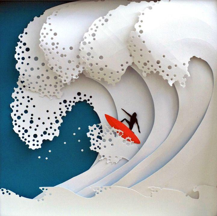 Best 25+ Paper art ideas on Pinterest | Creative art, Amazing art ...
