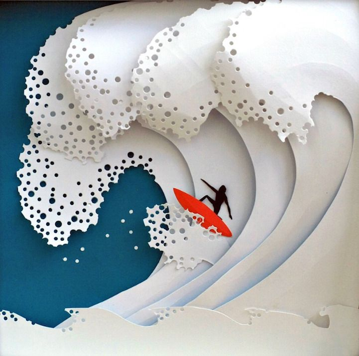 1000 ideas about cut paper art on pinterest cut paper for Beautiful paper cutting art