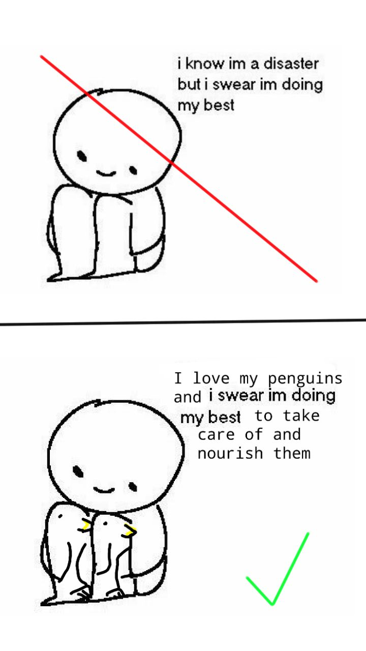 I used to be edgy but then I took a penguin to the knee