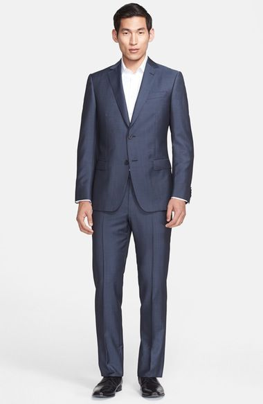 Z Zegna Trim Fit Wool & Mohair Suit available at #Nordstrom