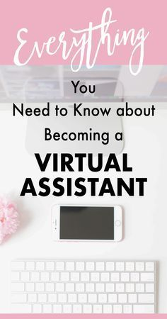 How to become a Virtual Assistant, work from home and make money online. Get the best tips from a successful VA sharing how she earns over 20K each month!