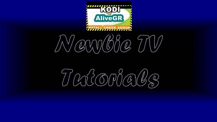 Kodi Greek Tutorial - July 2017 - Greek Series, Movies Alive gr + Greek ...