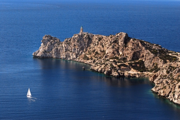 VISIT GREECE| The Lighthouse of Heraion, Loutraki-Perachora, #Peloponnese #Greece