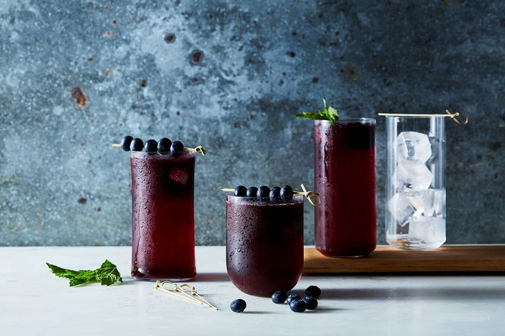 Blueberry-Lime Agua Fresca