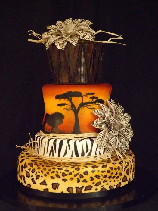 hymn to africa - by rosevanille @ CakesDecor.com - cake decorating website