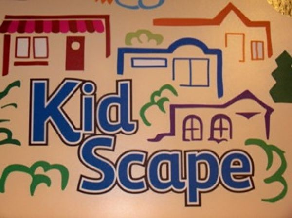 KidScape at Johnson County Museum - kids can play in their own mini-town - hospital, theater, park & more.