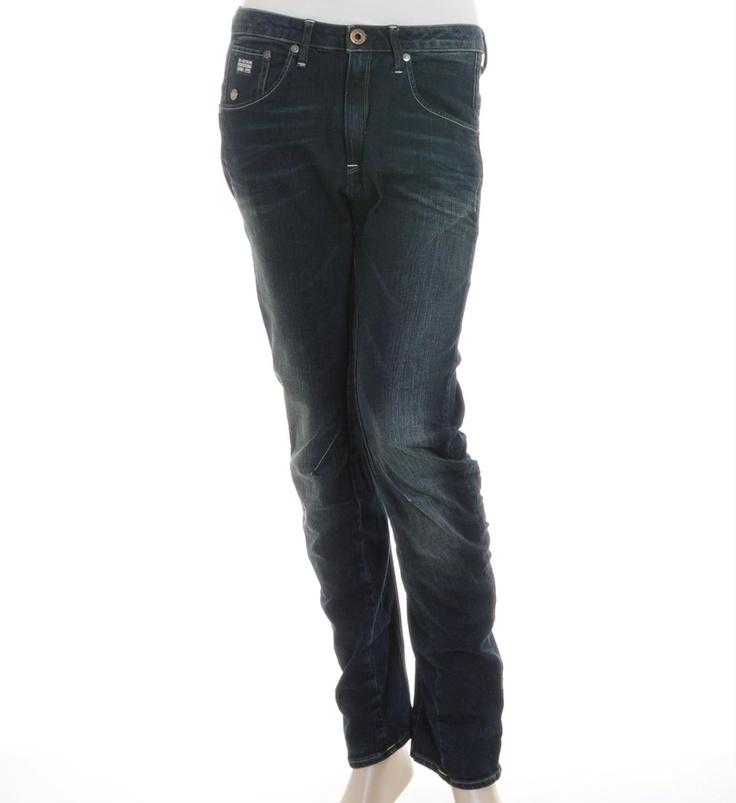 G-Star 5-pocket jeans model Arc 3D met een DK aged wash en een tapered fit. G-Star Arc is een 3D constructed denim - NummerZestien.eu