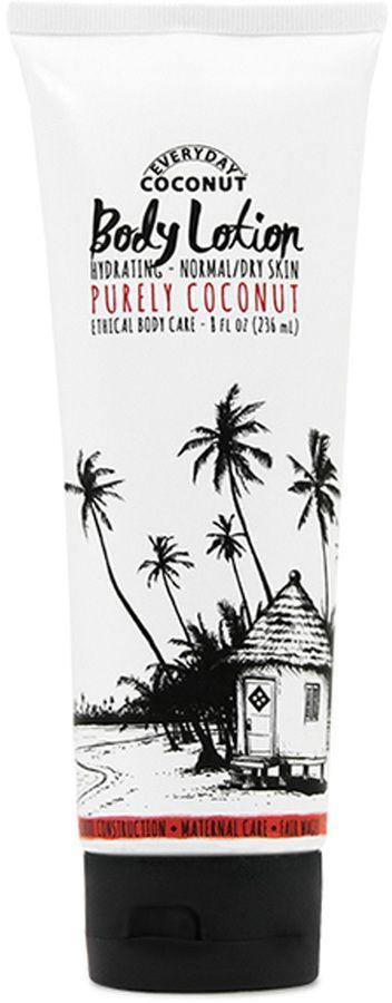 Hydrating Body Lotion - Purely Coconut by Alaffia (8oz Lotion)
