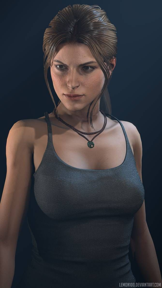 Barbell Lara Croft 2015 Beta By Lemonysenpai On Deviantart In 2020