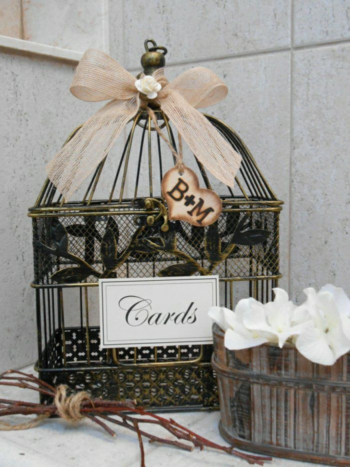 17 meilleures id es propos de d coration de cage for Cage a oiseaux decorative