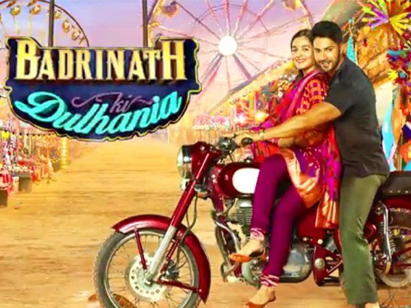 We already told you Dharma Productions will be announcing their next starring Varun Dhawan and Alia Bhatt in the lead roles. As it turns out it's the sequel to the 2014 hit Humpty Sharma Ki Dulhania and is titled Badrinath Ki Dulhania. The first look of the movie is out and you can see Varun taking out the perky Alia in his bike. Adorable isn't it? Watch the full video by clicking on the link given in our bio (www.filmfare.com) by #Filmfare. Shared by #BollywoodScope