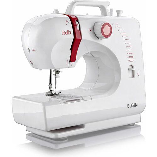 Máquina de Costura Portátil Bella Elgin - Bivolt