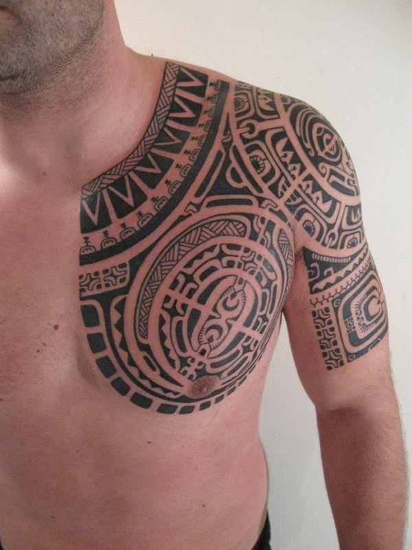 Amazingly Designed Marquesan Tattoo Patterns (31) #marquesantattoosformen #marquesantattoostatoo