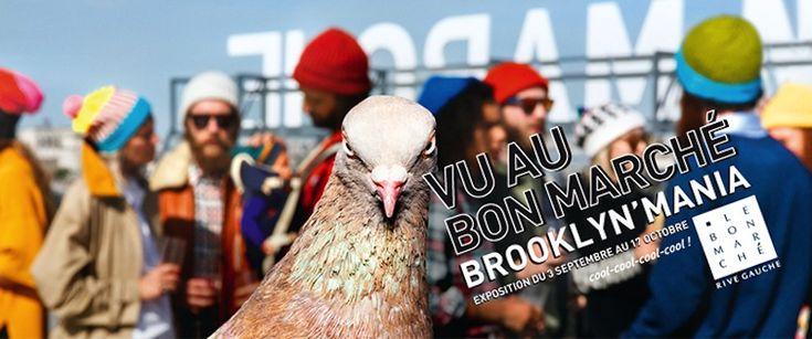"""Thématique """"Brooklyn Rive Gauche"""" jusqu'au 17 octobre 2015 au Bon Marché et à La Grande Epicerie de Paris •La Sélection de Ma Sérendipité"""
