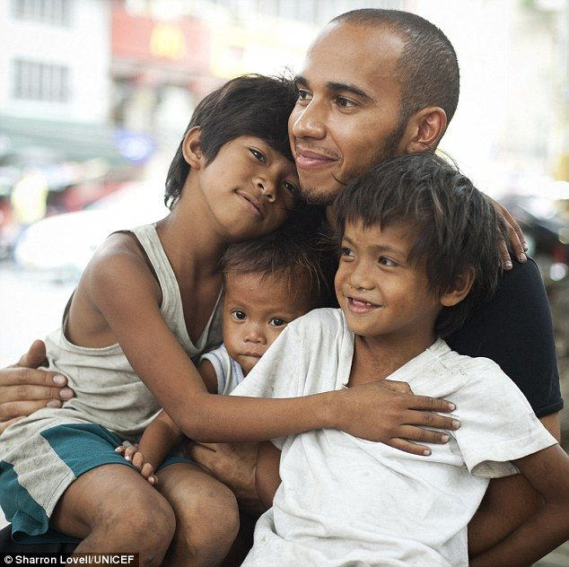 Support UNICEF if you can. A great organization. With great role models.  http://grandprix20.com/2012/03/29/lewis-hamilton-uses-f1-break-to-pay-heart-warming-visit-to-street-children-in-manila/  #lewishamilton #philippines #UNICEF