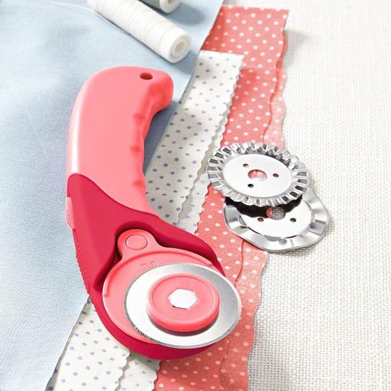Roller cutter, couteau rotatif multi-usages, poignée ergonomique diamètre 45mm