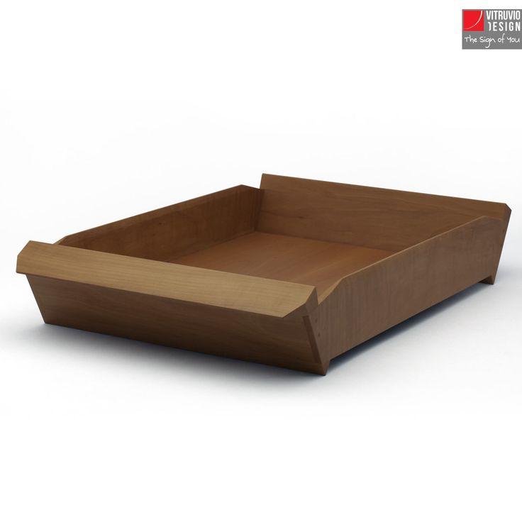 Vassoio di design in legno | Made in Italy | Vitruvio Design
